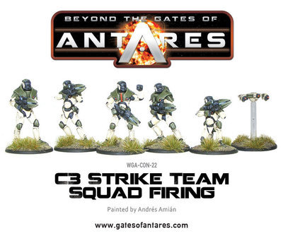 Concord C3 Strike Squad Firing - Beyond The Gates Of Antares