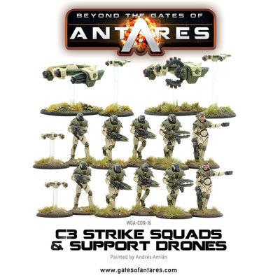 Concord C3 Strike Squad (plastic) - Beyond The Gates Of Antares