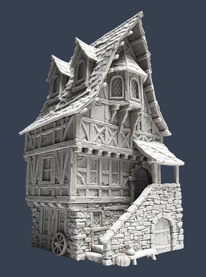 Town House 3 - Stadthaus - Tabletop World