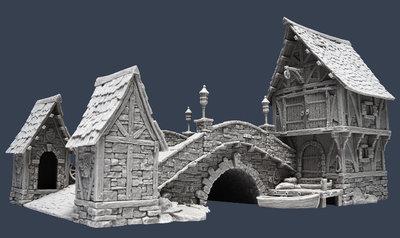 Stone Bridge - Brücke - Tabletop World