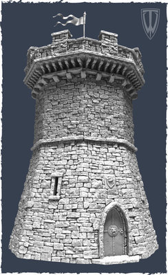 Fortified Tower - Wehrturm - Tabletop World