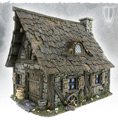 Cottage - Hütte - Tabletop World
