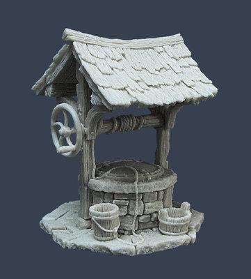 Water Well - Brunnen - Tabletop World