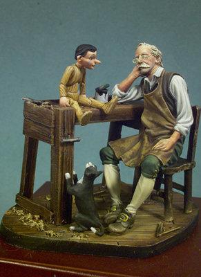 Gepetto's Dream - 54mm - Andrea Miniatures