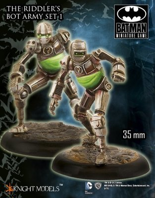 The Riddlers Bot Army Set 1 - Batman Miniature Game