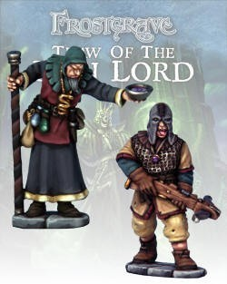 Cultist Apothecary & Marksman (2) - Frostgrave - Northstar Figures