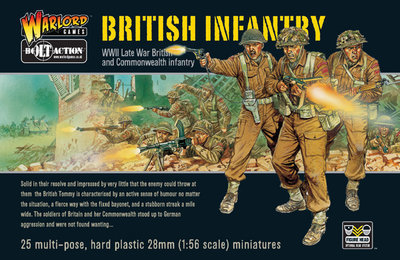 WWII British Infantry (25) - British - Bolt Action