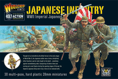 Imperial Japanese Infantry - Imperial Japan - Bolt Action