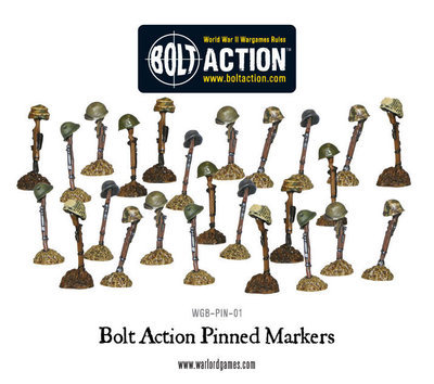 Pinned Markers - Bolt Action