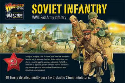 WWII Soviet Infantry - Soviet Union - Bolt Action