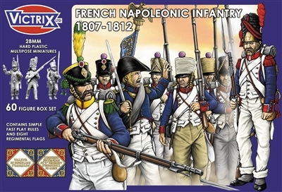 French Napoleonic Infantry 1807 - 1812 - Victrix
