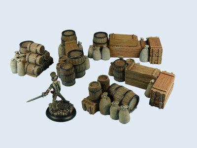 Ware Piles Boxed Set (5) - Wolsung