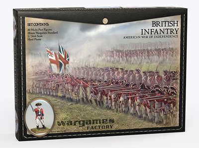 British Infantry American War of Independence - Horse and Musket - Wargames Factory