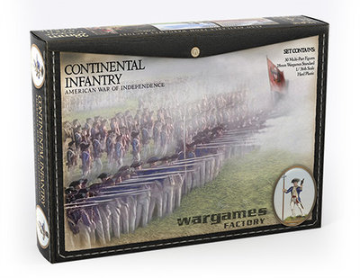 Continental Infantry American War of Independence - Horse and Musket - Wargames Factory