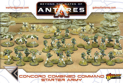 Concord Combined Command Starter Army - Beyond The Gates Of Antares