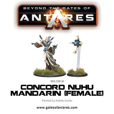 Concord Nu-Hu Mandarin (Female) - Beyond The Gates Of Antares
