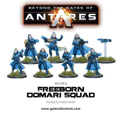 Freeborn Household Squad (Domari) - Beyond The Gates Of Antares