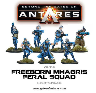 Freeborn Mhagris Feral Squad - Beyond The Gates Of Antares
