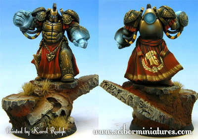 Spartan SF Warrior #3 - Scibor Miniatures