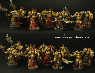 SF Roman Legionaries 10 figures set - Scibor Miniatures