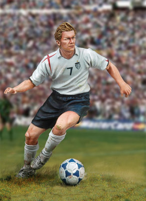 Football Player - 54mm - Andrea Miniatures
