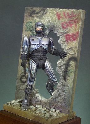 Technocop (2030) - 54mm - Andrea Miniatures