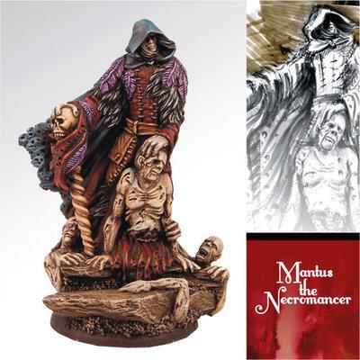 Mantus the Necromancer - Scibor Miniatures