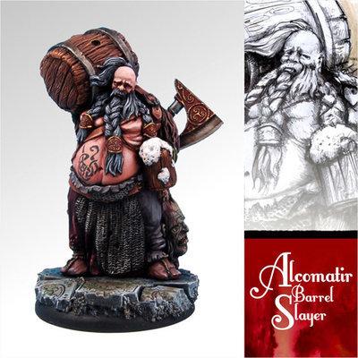 Alcomatir Barrel Slayer - Scibor Miniatures