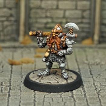 DAD1 – Male Dwarf Fighter - Otherworld Miniatures