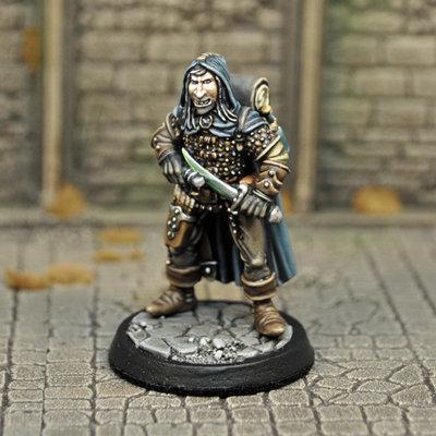 DAH10 – Human Male Assassin - Otherworld Miniatures