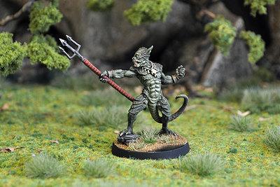 WE5c – Lizard King - Otherworld Miniatures
