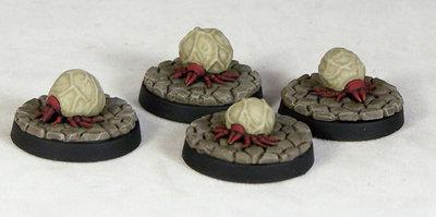 DV2a – Giant Ticks (4) - Otherworld Miniatures