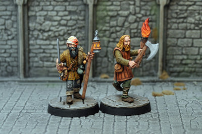ME5a – Tomb Robbers (2) - Otherworld Miniatures