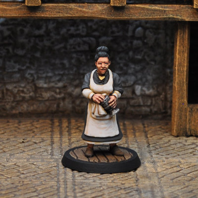 NPCT2 – Inkeeper's Wife - Otherworld Miniatures