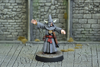 ME2e – Evil High Priest II - Otherworld Miniatures