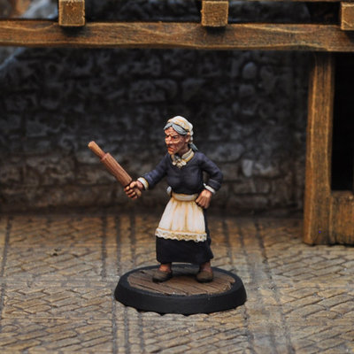 NPCT5 – Old Crone - Otherworld Miniatures
