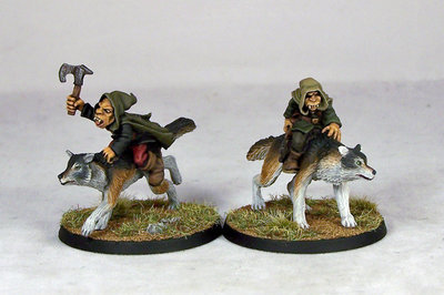 GB6 – Goblin Wolfriders II (2) - Otherworld Miniatures