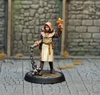 DAH14 – Human Female Cleric - Otherworld Miniatures