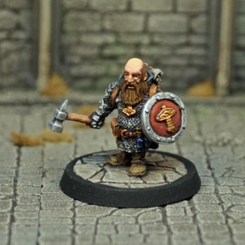 DAD2 – Male Dwarf Cleric - Otherworld Miniatures