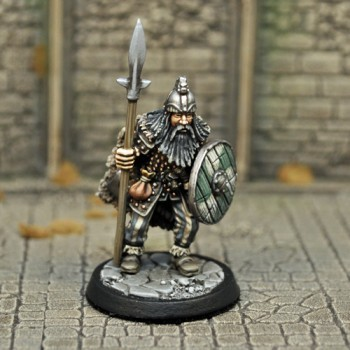 DAH7 – Human Male Barbarian - Otherworld Miniatures