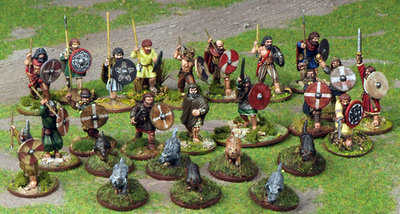 Irish Warband Starter (4 points) - SAGA - Iren