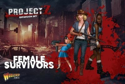 PROJECT Z - Female Survivors - Warlord Games