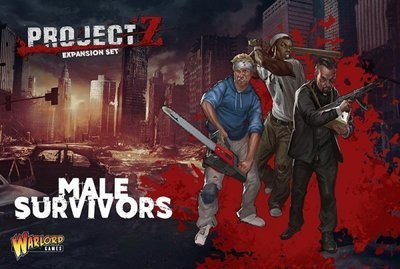 PROJECT Z - Male Survivors - Warlord Games