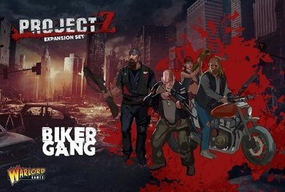 PROJECT Z - Motorbike Gang - Warlord Games