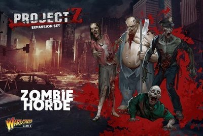 PROJECT Z - Zombie Horde - Warlord Games
