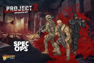 PROJECT Z - Special Operations Team - Warlord Games
