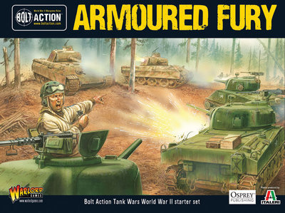 Tank War Starter Set - Armoured Fury - Bolt Action - Warlord Games