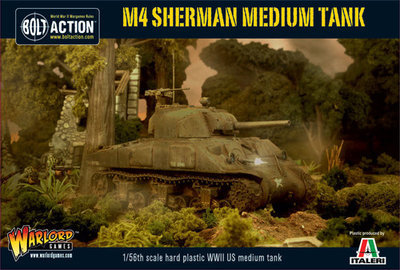 US Armoured Platoon (3 Shermans) - American - Bolt Action
