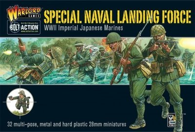 Japanese Special Naval Landing Force - Imperial Japan - Bolt Action