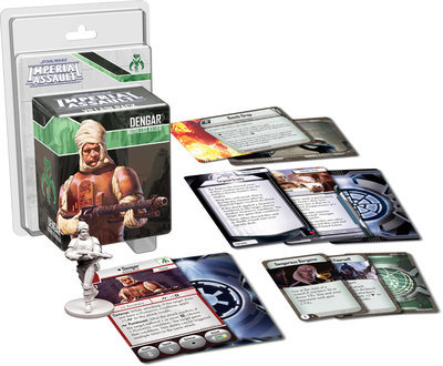 Dengar (Schurken) - Star Wars: Imperial Assault - deutsch